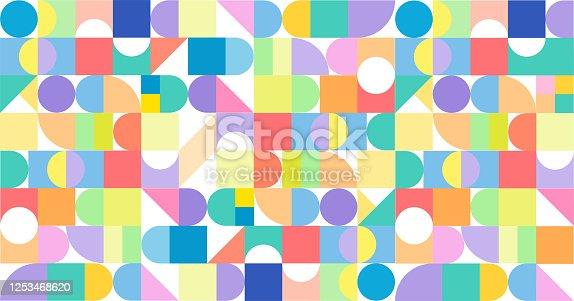 istock Modern Design Diversity Promo Banner Vector Design 1253468620