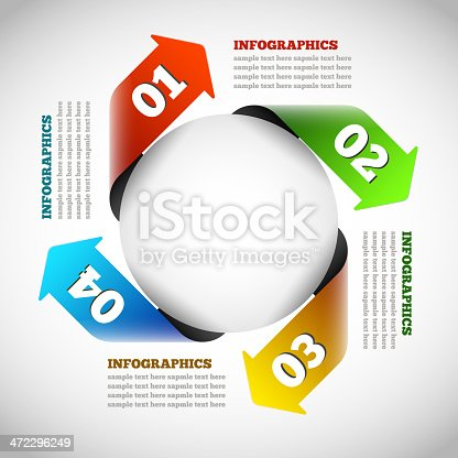 istock Modern Design Infographic Template 472296249