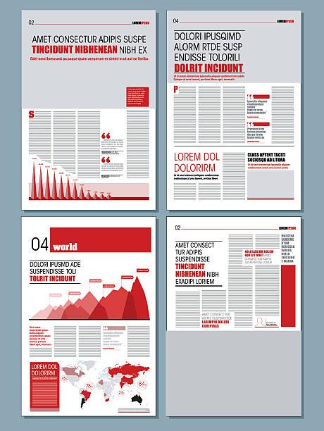 modernes design, tageszeitung - editorial stock-grafiken, -clipart, -cartoons und -symbole