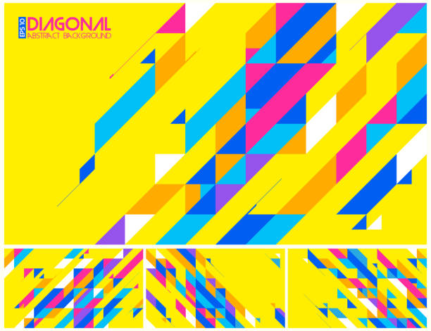 Modern diagonal abstract background Modern diagonal abstract background vector. Suitable for your design element and background diagonal stock illustrations
