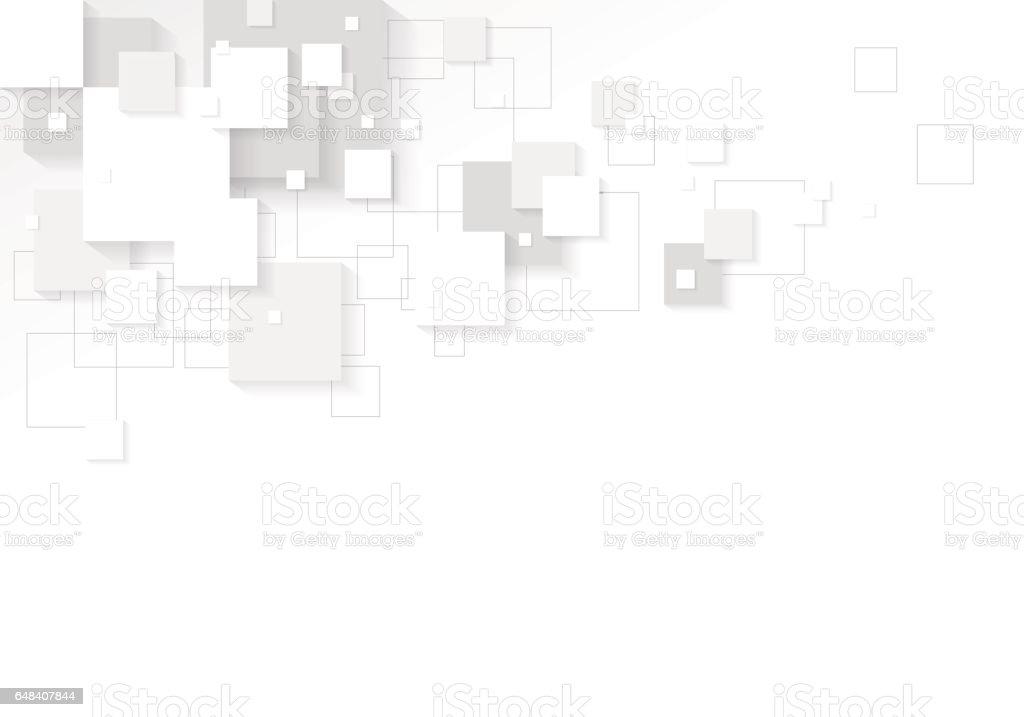 Modern Digital White Background Design Stock Illustration ...