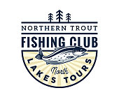 Fishing badge for fishing competition, club, restaurant, apparel, sticker, event, and any other fishing related activities.