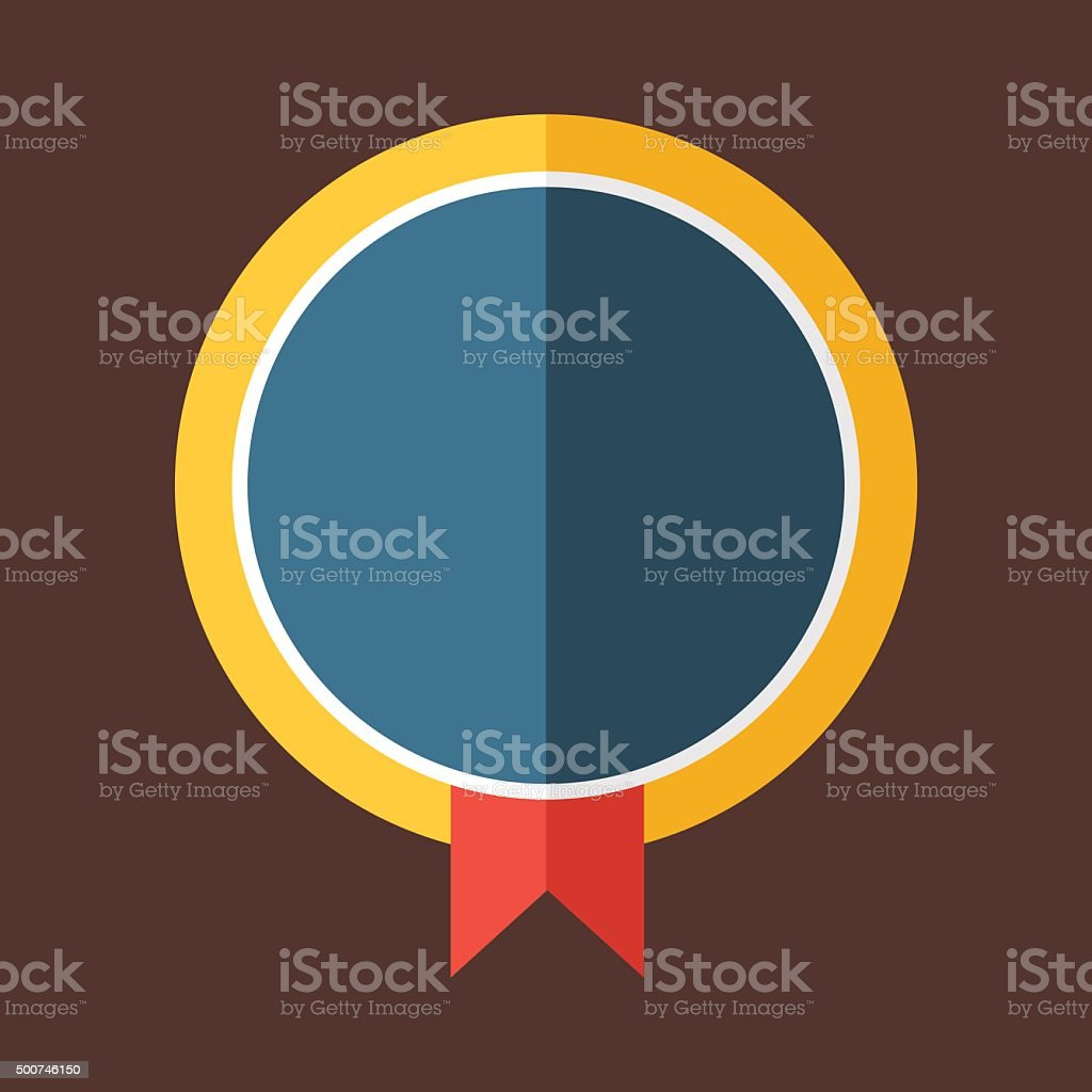 Modern Flat Design Badge Icon Stock Vector Art & More Images