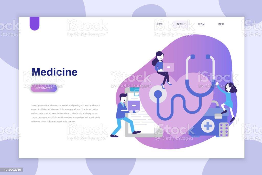 Modern flat design concept of Medicine for website and mobile website. royalty-free modern flat design concept of medicine for website and mobile website stock illustration - download image now
