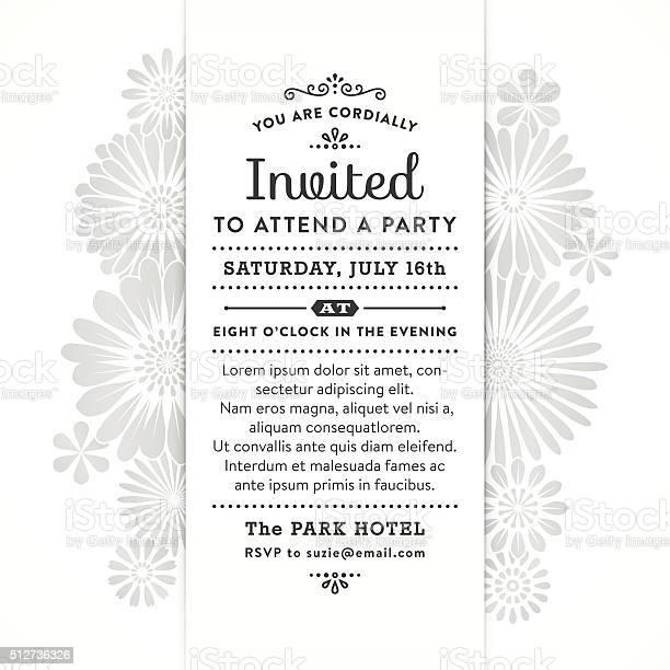 Modern floral party invitation vector id512736326?b=1&k=6&m=512736326&s=612x612&h=58mw1h3joj9viche80fws4rtdvlqnbyxqwggspfim9m=