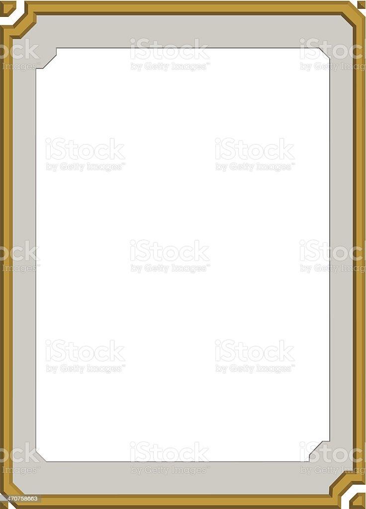 Moderne Rahmen Bügelbrett Stock Vektor Art und mehr Bilder von ...