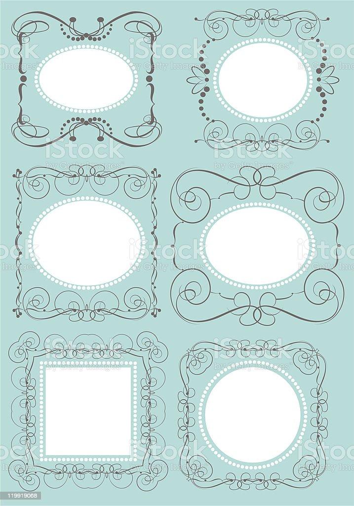 modern frame royalty-free stock vector art