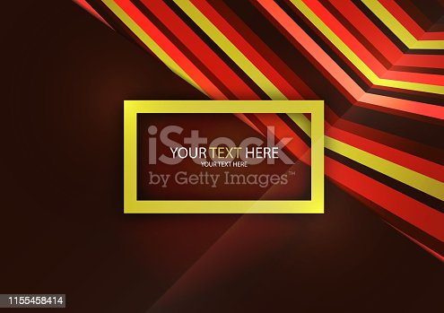 istock Modern geometric abstract background. Colorful horizontal and vertical lines in an oblique perspective. Suitable for your design element and web background. 1155458414
