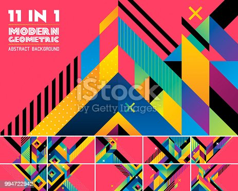 Modern geometric vector abstract background. Suitable for your design element and web background