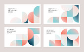 istock Modern geometric abstract backgrounds 1191463974