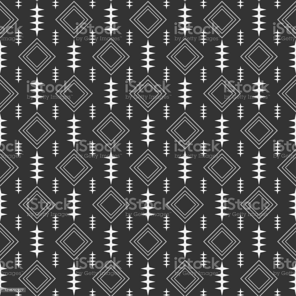 modern geometric pattern black and white texture in japanese style vector id1216707277