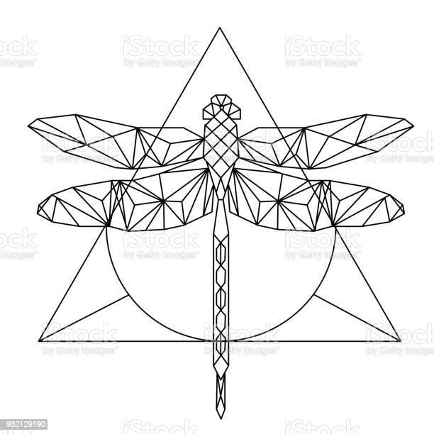 Modern geometry dragonfly tattoo design triangle background vector vector id932129190?b=1&k=6&m=932129190&s=612x612&h=rjg zzcu0bjjlf9qqggazmntc77rgyhtaycumlimkug=