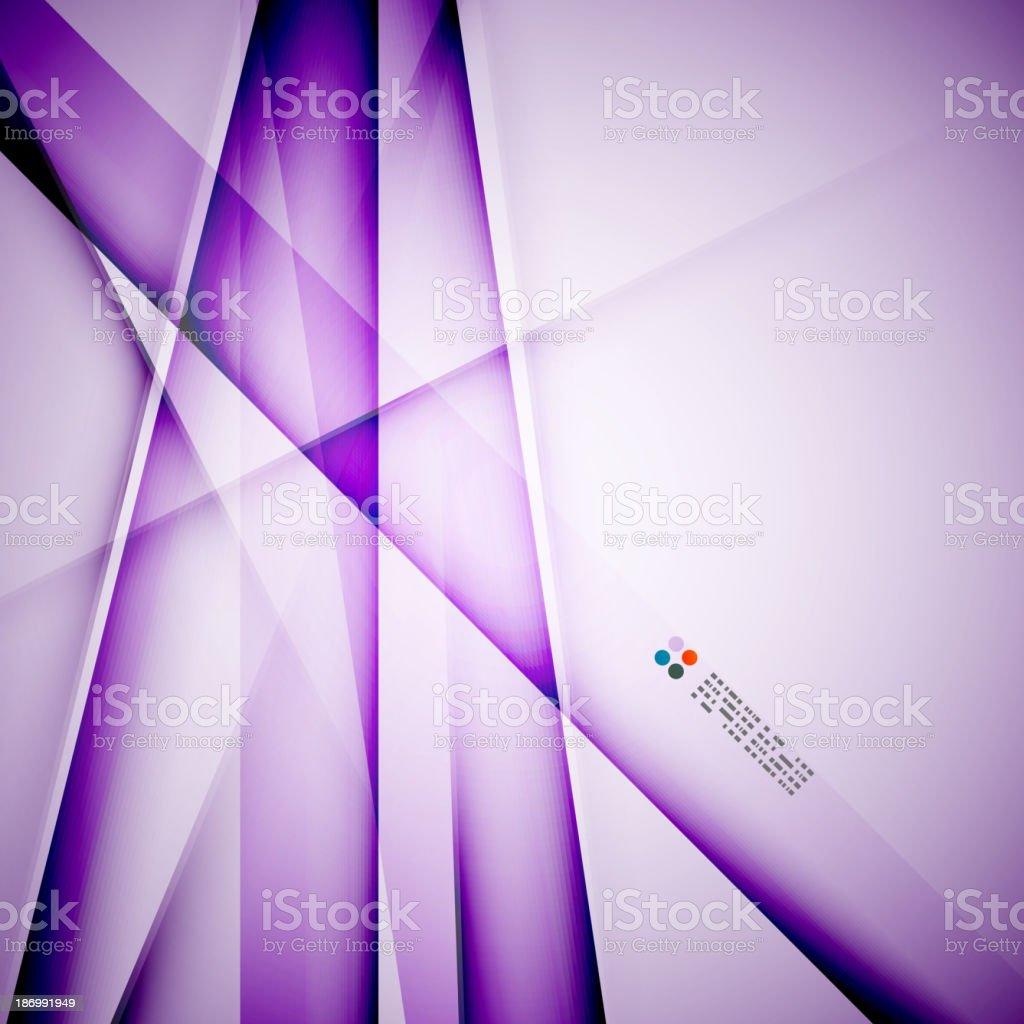 Modern glass straight lines royalty-free stock vector art