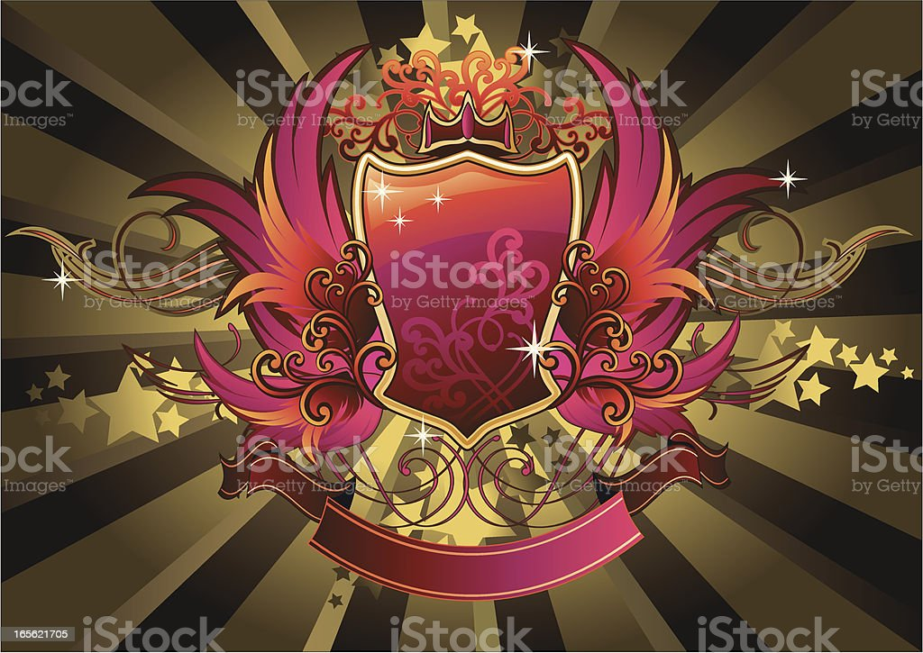 Modern Glossy Insignia royalty-free modern glossy insignia stock vector art & more images of abstract