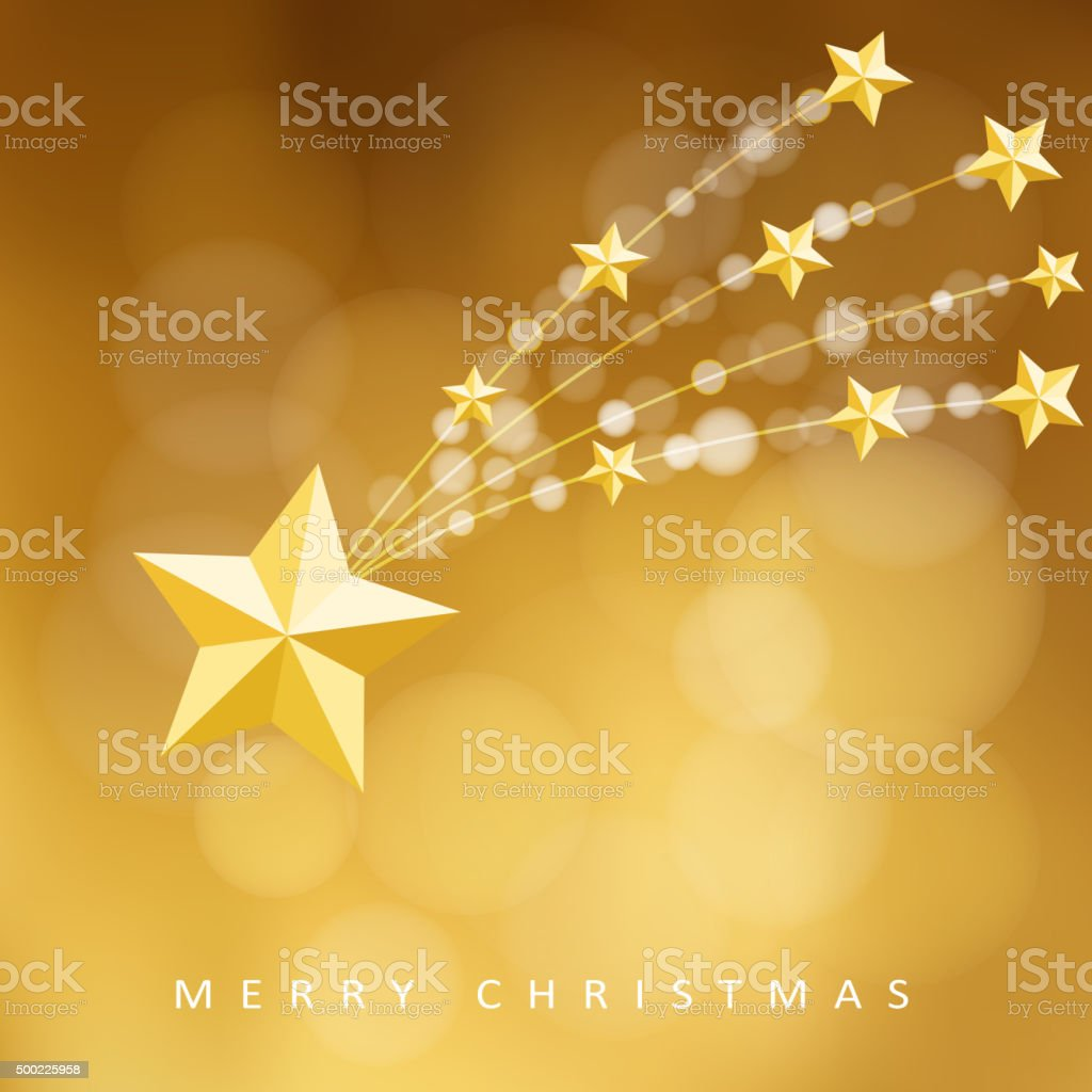 Modern golden christmas greeting card with comet vector stock modern golden christmas greeting card with comet vector royalty free modern golden christmas greeting kristyandbryce Images