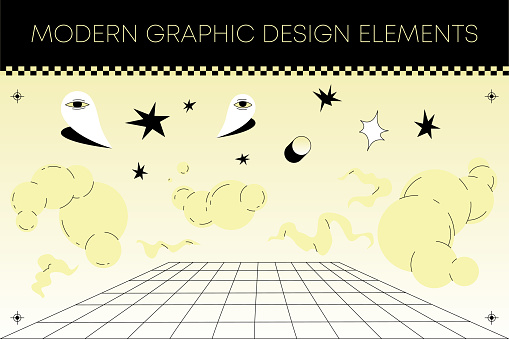 Modern Graphic Design Elements