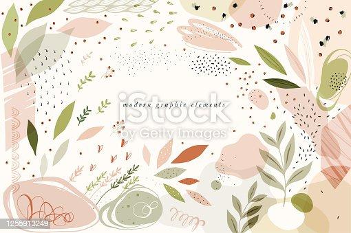istock Modern Graphic Elements_01 1255913249