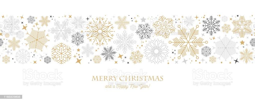 Modern grafisk snowflake semester, jul bakgrund Stock Illustration - Royaltyfri Abstrakt vektorgrafik
