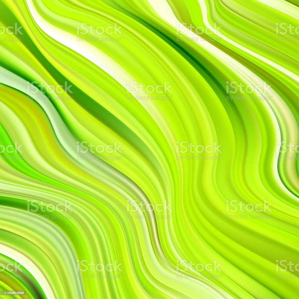 Color de flujo verde
