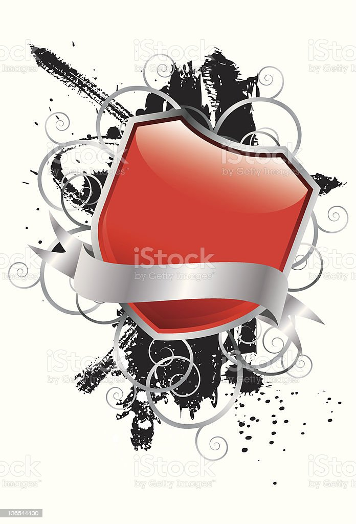 Modern grunge badge royalty-free modern grunge badge stock vector art & more images of abstract
