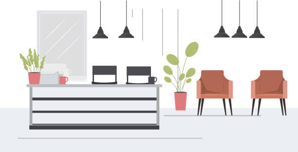 17 Beauty Salon Interior Design Ideas Illustrations Royalty Free Vector Graphics Clip Art Istock