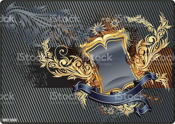 Modern Heraldry-vektorgrafik och fler bilder på Antik