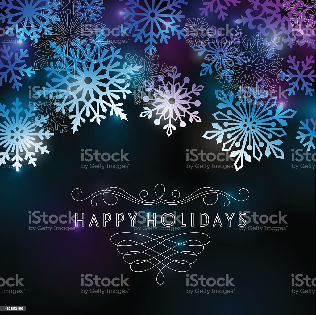 Modern Holiday Card royalty-free modern holiday card stock vector art & more images of abstract
