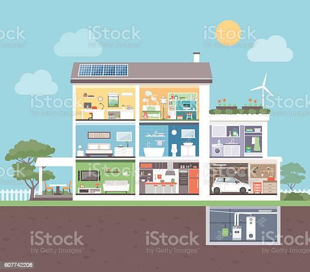 Modern house with rooms vector id607742208?b=1&k=6&m=607742208&s=612x612&h=lfjjtxc5rkpjp vuwezp8hkgiimz lfknaworhhnux0=