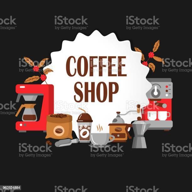 Vetores de Ícones Modernos Para Café E Casa De Café e mais imagens de Aplicação móvel