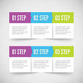 Modern infographic template. Vector illustration for your design