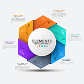 istock Modern Infographic Template 1185098940