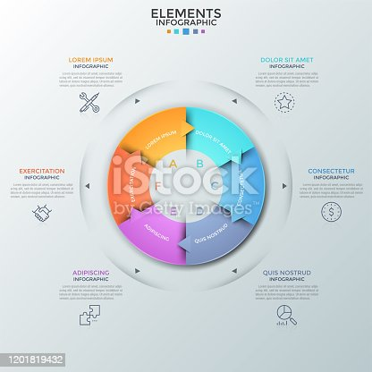 istock Modern Infographic Template 1201819432
