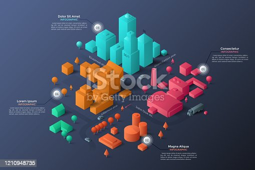 istock Modern Infographic Template 1210948735