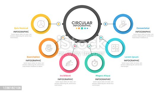 istock Modern Infographic Template 1236182106