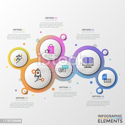 istock Modern Infographic Vector Template 1179139499