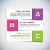 3D Modern infographics Design Layout with shadow. Vector Illustration for your design.
