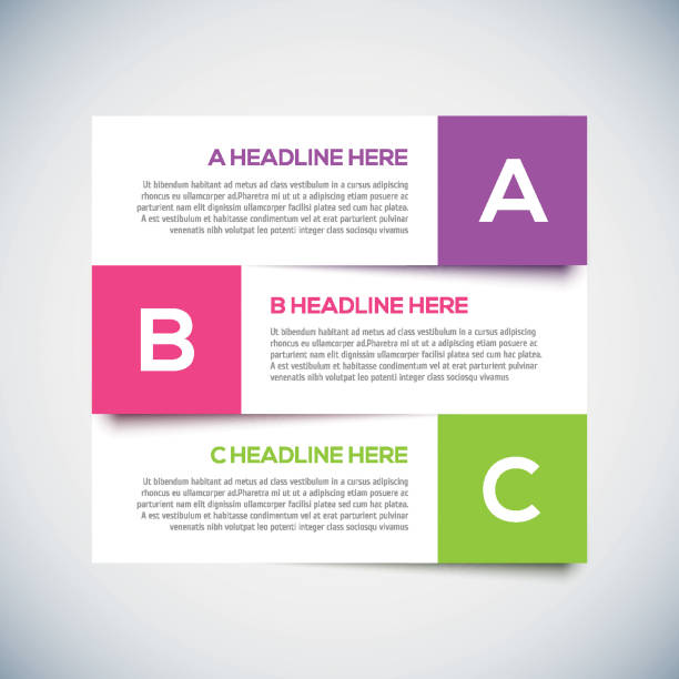 moderne infografiken design-layout mit schatten. - einzelnes tier stock-grafiken, -clipart, -cartoons und -symbole