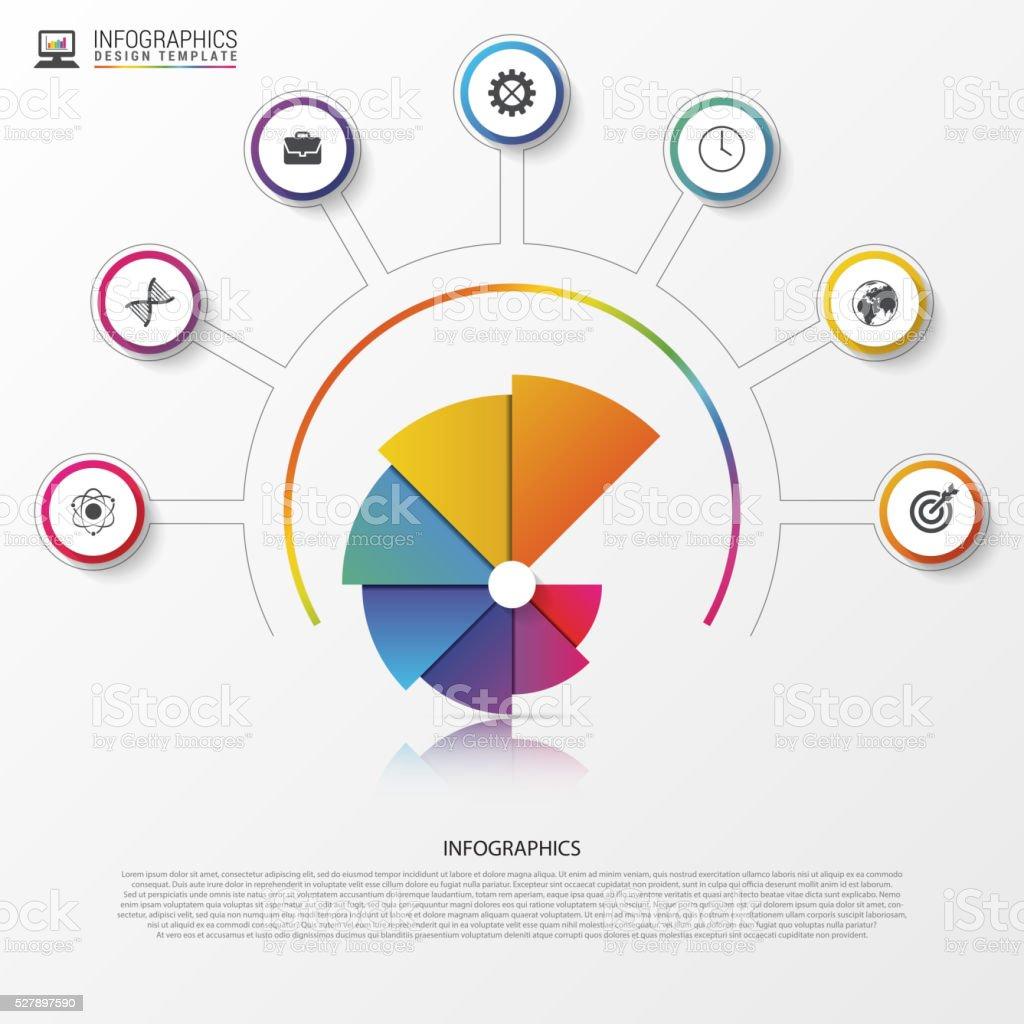 Modern infographics options banner spiral pie chart vector stock modern infographics options banner spiral pie chart vector royalty free modern infographics options geenschuldenfo Gallery