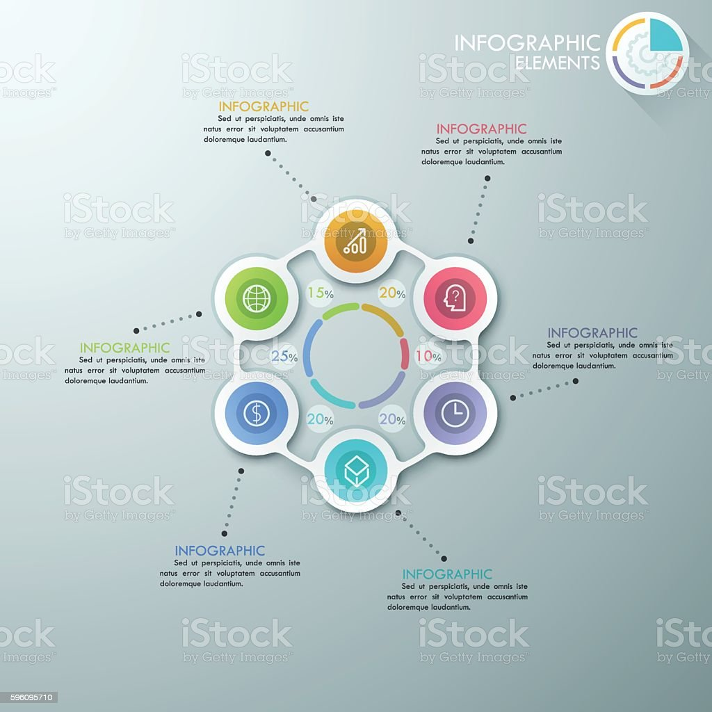Modern infographics options banner. royalty-free modern infographics options banner stock vector art & more images of abstract
