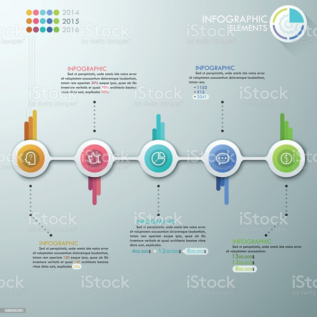 Modern Infographics Process Template royalty-free modern infographics process template stock vector art & more images of abstract