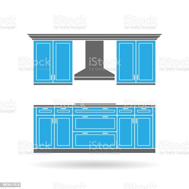 Modern kitchen cabinets with cooktop vector illustration vector id960647818?b=1&k=6&m=960647818&s=612x612&h=rybyzsbjg7wem31fwwqgk9z panry4ydlaydhwggmvc=