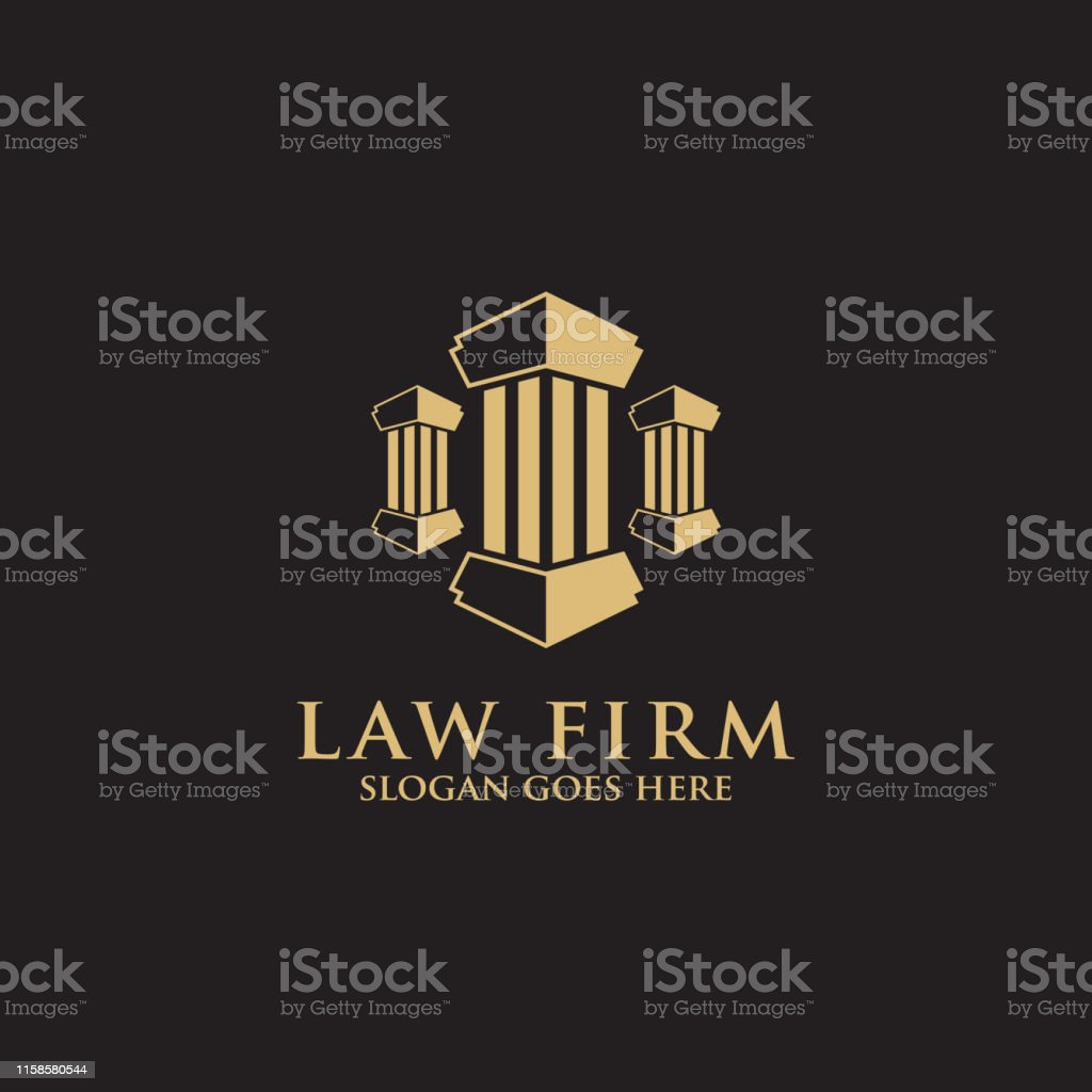 Modern Law Firm Logo Inspiration Clean And Clever Logo Vector Stock  Illustration - Download Image Now