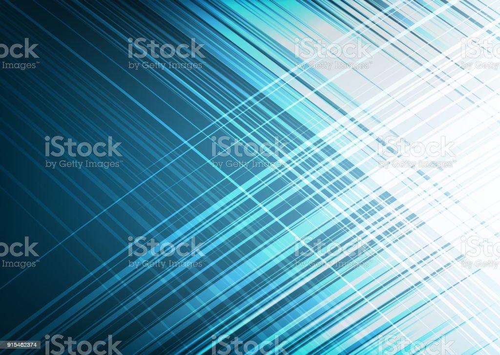 Modern Light Blue Abstract Background Flash Und Speed