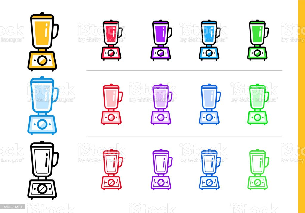 Modern line icon HAND BLENDER of bakery, cooking. Premium quality outline symbol for web graphics and print modern line icon hand blender of bakery cooking premium quality outline symbol for web graphics and print - stockowe grafiki wektorowe i więcej obrazów bez ludzi royalty-free