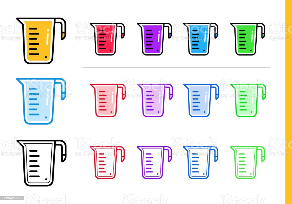 Modern line icon MEASURE CUP of bakery, cooking. Premium quality outline symbol for web graphics and print royalty-free modern line icon measure cup of bakery cooking premium quality outline symbol for web graphics and print stock vector art & more images of bakery