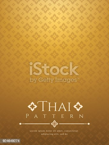istock modern line Thai pattern traditional concept The Arts of Thailand 924649274