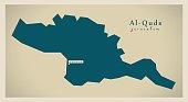 Modern Map - Al-Quds PS