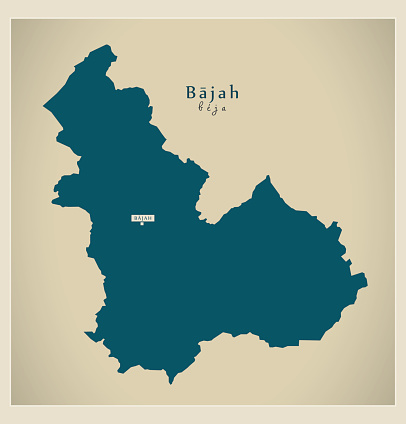 Modern Map - Bajah TN