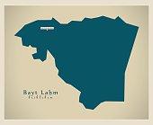 Modern Map - Bayt Lahm PS