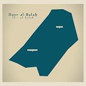 Modern Map - Dayr al-Balah PS